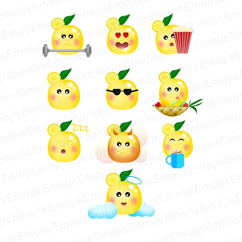 LeMoji - Lemon Character Emojis