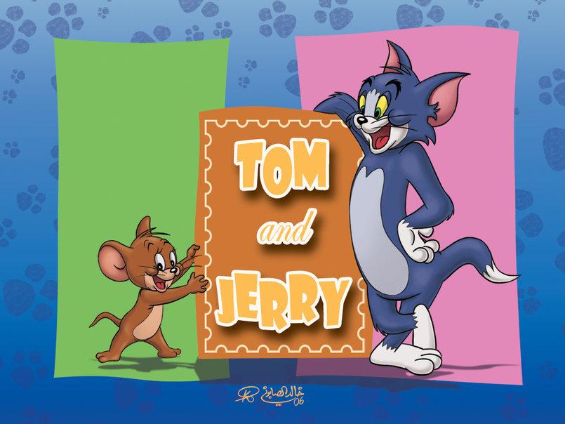 Tom & Jerry Background.