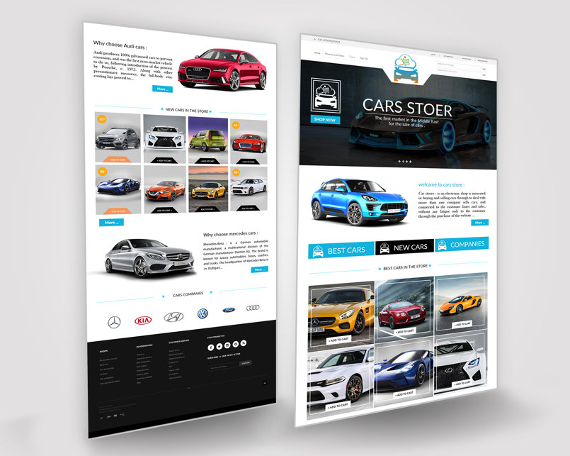 car store (website)