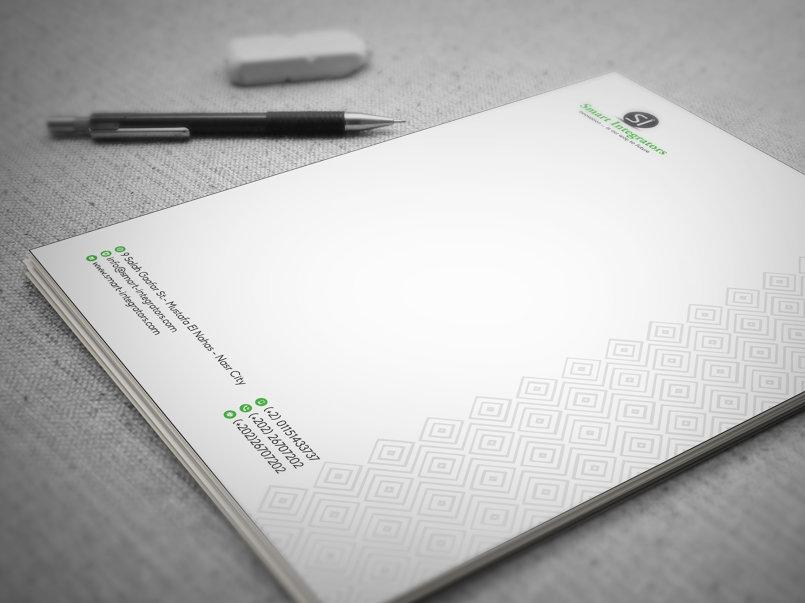 تصميم الهوية المتكاملة لشركة سمارت انتجريتورز