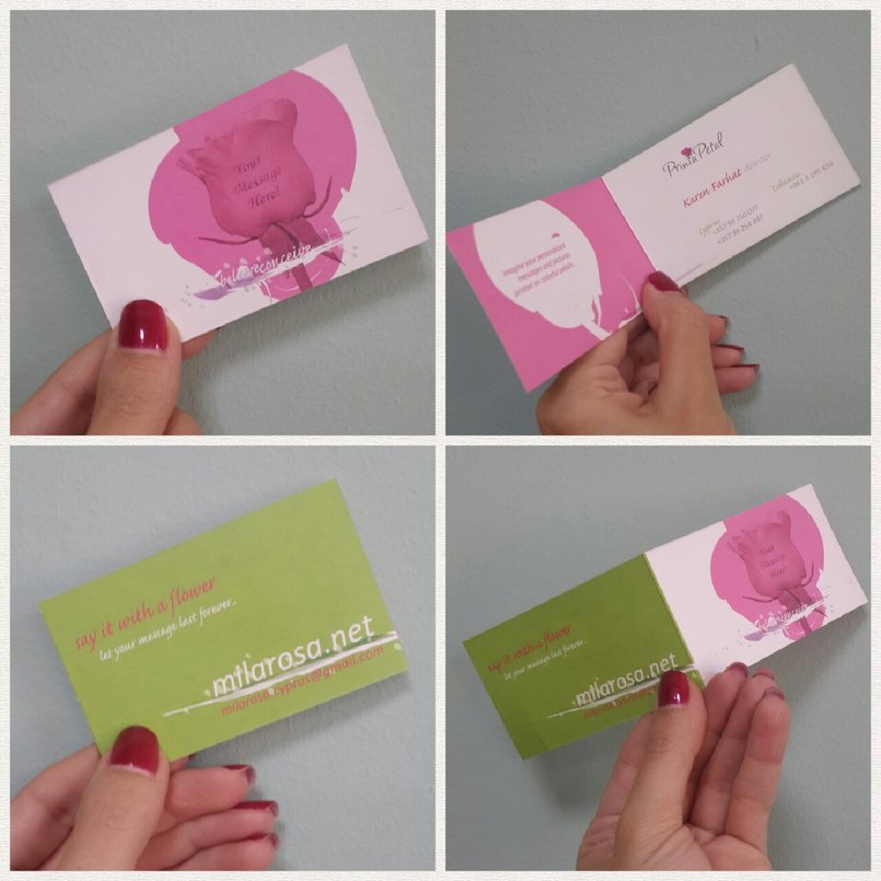 Business Card recto-verso