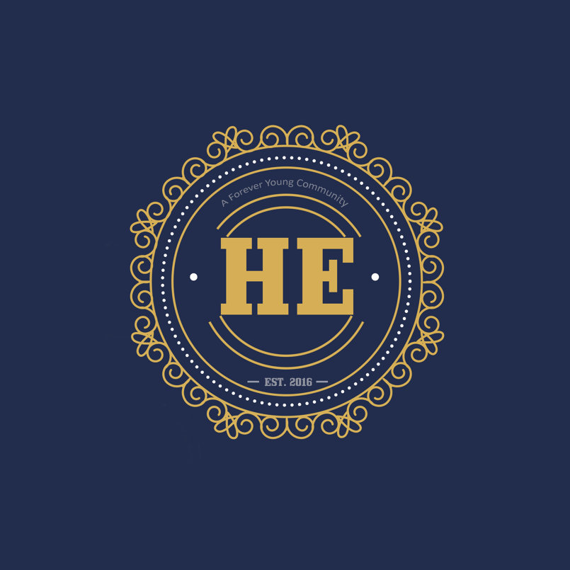 HE Store logo Concept and design