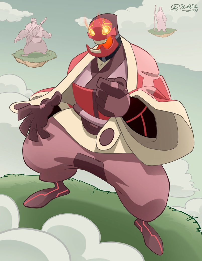 """This is Kuta, a character that appears in a comic titled """"Bastion's 7""""."""