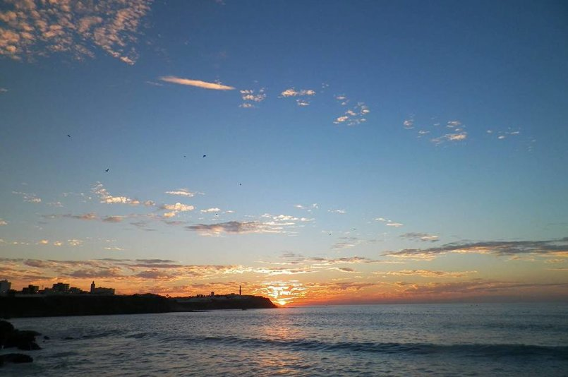 sunset in my beautiful city Larache in Morocco :)