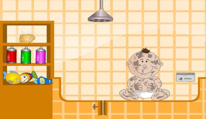 لعبة تعليمية تتناول النظافة والعادات الصحية