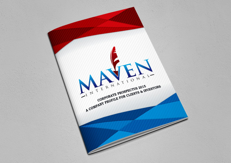 Maven international (Graphic design, Company profile catalogue) - By