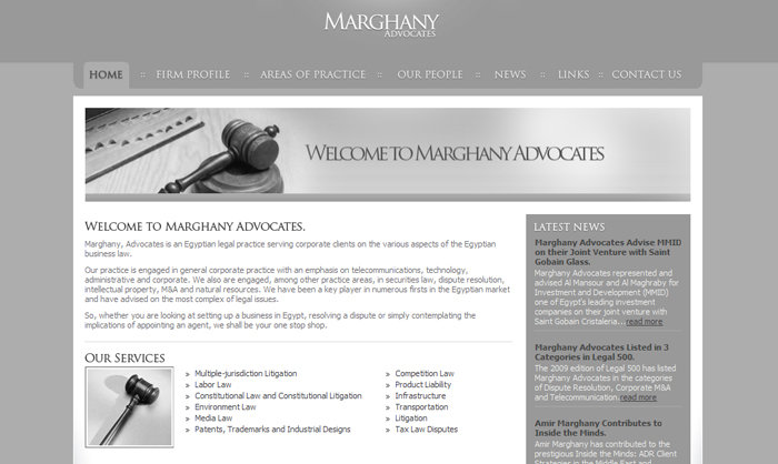 Marghany Advocates: www.marghany.com