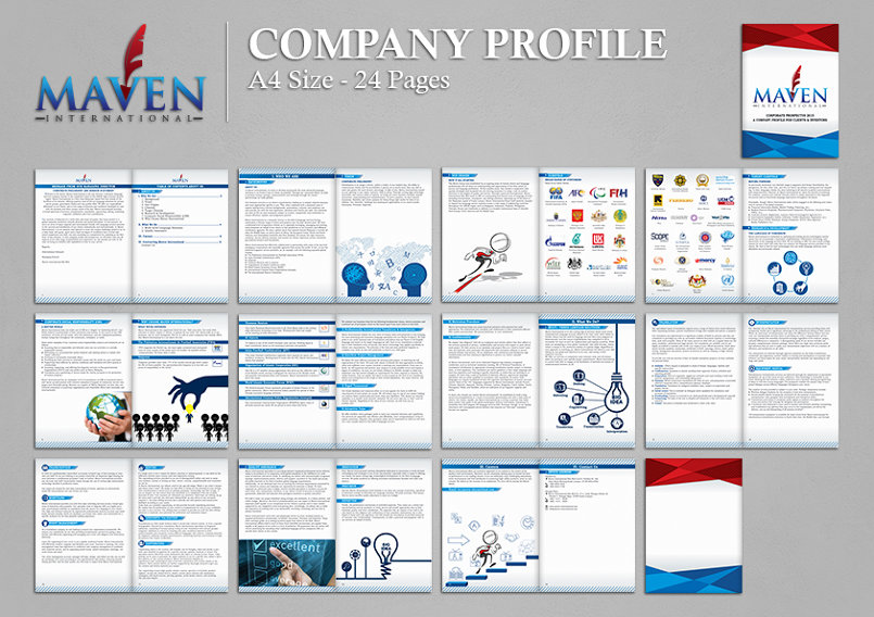 Maven international graphic design company profile for International design company