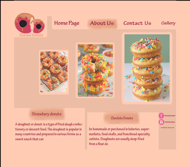 Donuts website