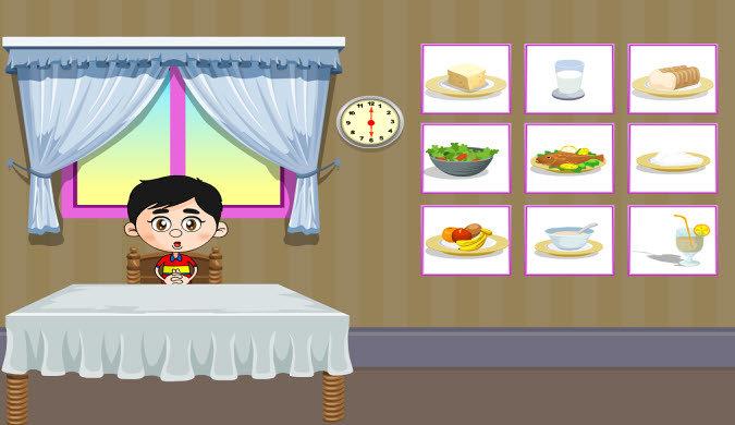 نشاط تفاعلي يتناول وجبات الفطار والغذاء والعشاء