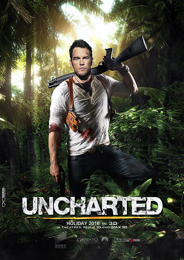 Uncharted Movie Poster