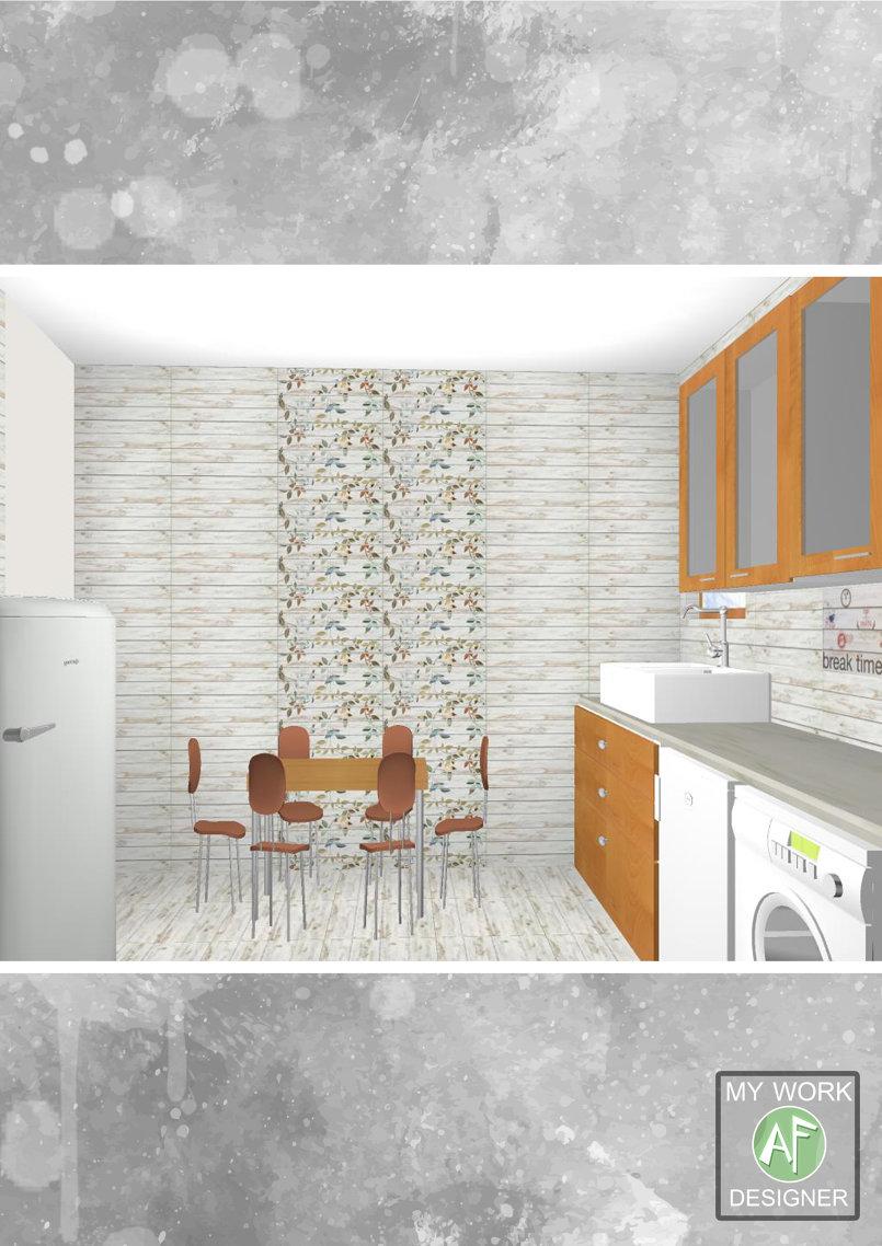 3D Ceramic Interior Design -Bathroom And Kitchen -- Mahgoub Co