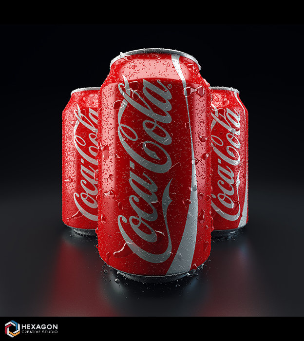 Digital Art - Cola Packshot
