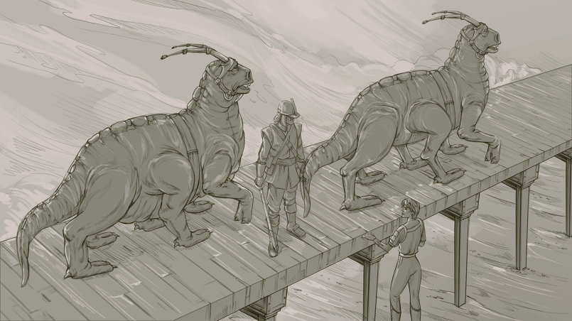 Sketch for science fiction story