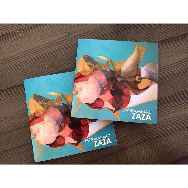 Mohammad Zaza Art15 London Cataloge