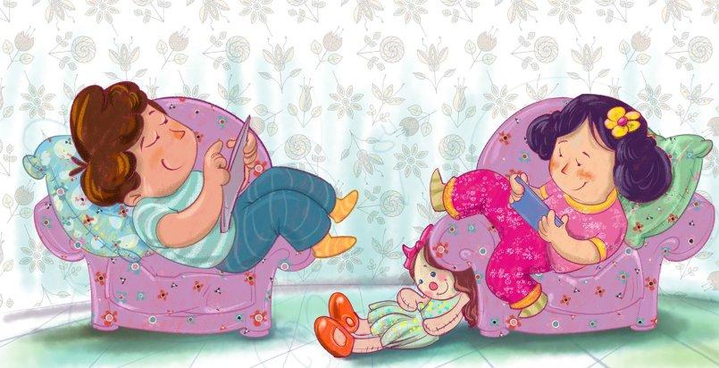 رسوم كتب وقصص أطفال منوعة 3