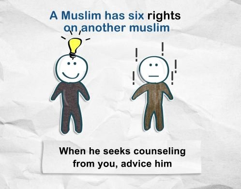 A Muslim's Six Rights On You