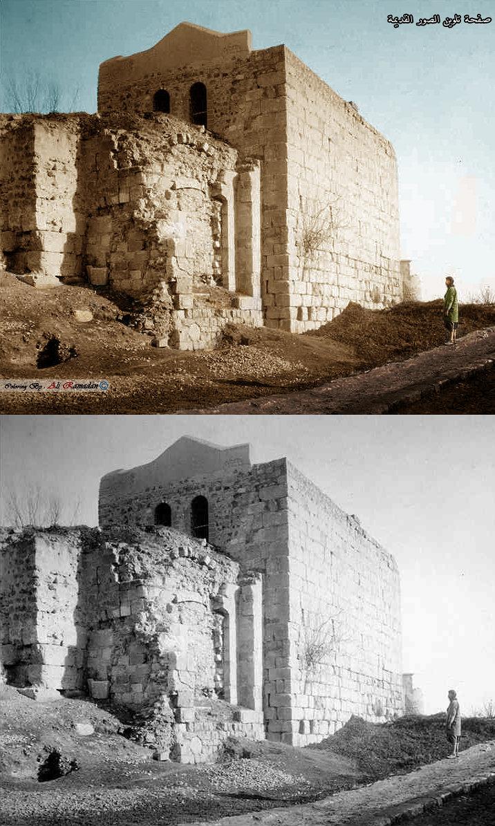 باب كيسان دمشق سنة 1870