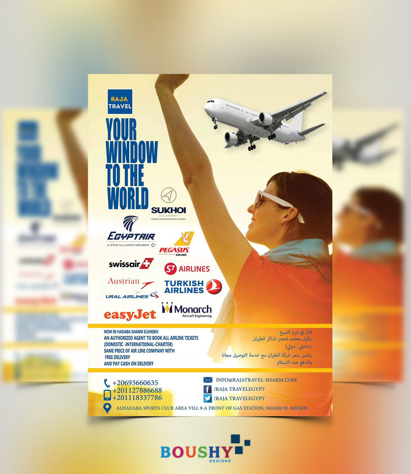 Raja Travel Flyer