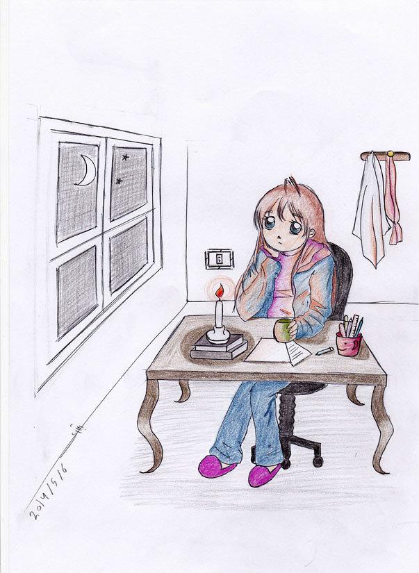 رسم أنيمي