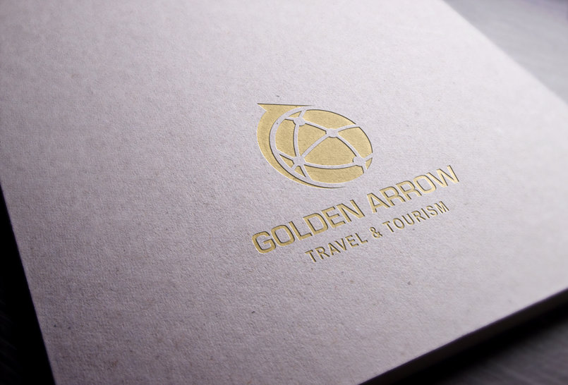 Golden Arrow - Travel & Tourism Brand & Logo Design.