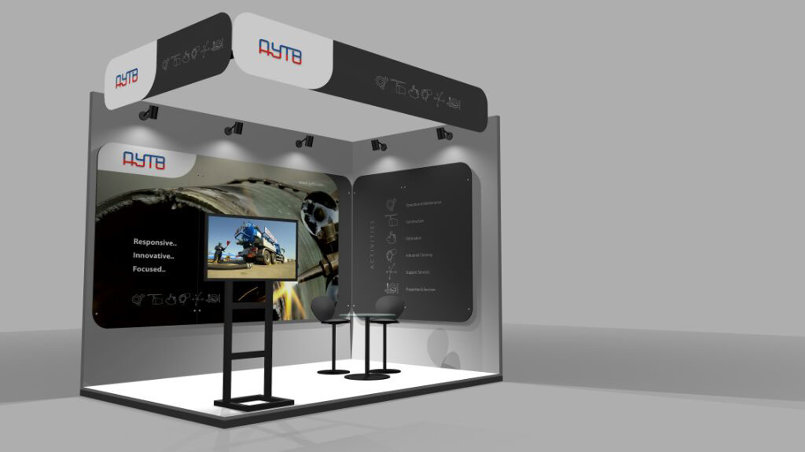 3D Designs for  Exhibition Stands