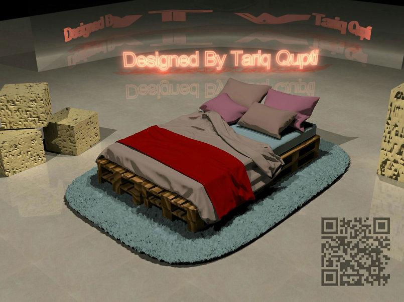 غرفة نوم مبتكرة