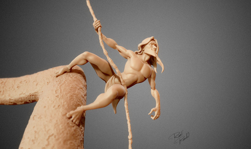 Tarzan speed sculpting