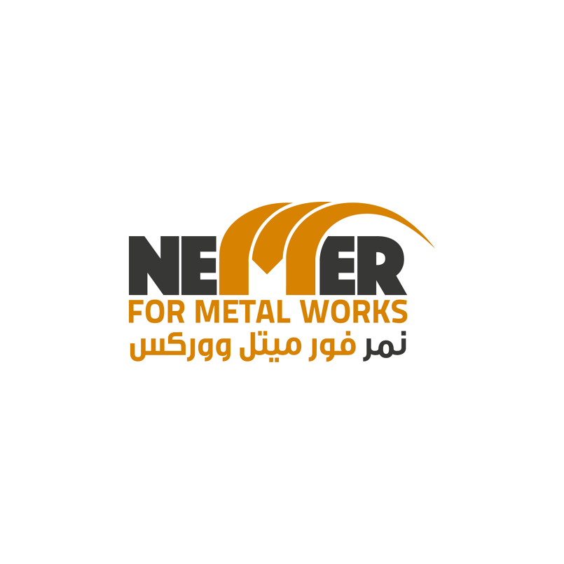 Nemer For Metal Works Logo - Slightly tweaked from Original, Client decided on keeping the general brand intact to insure continued brand recognition