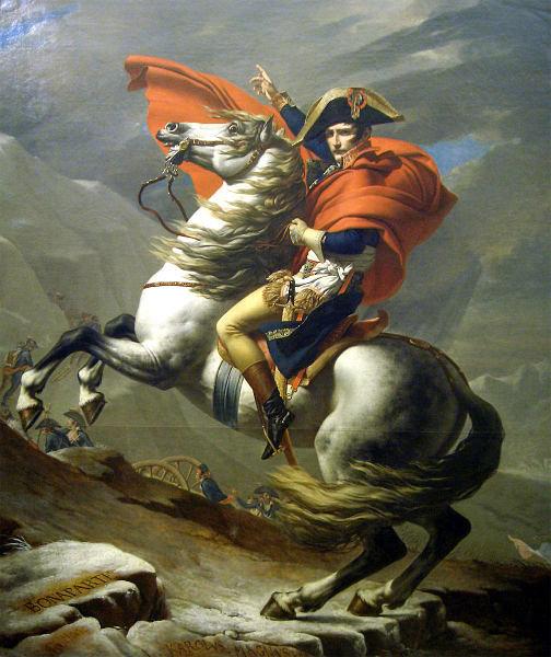 الأصل لوحة نابليون