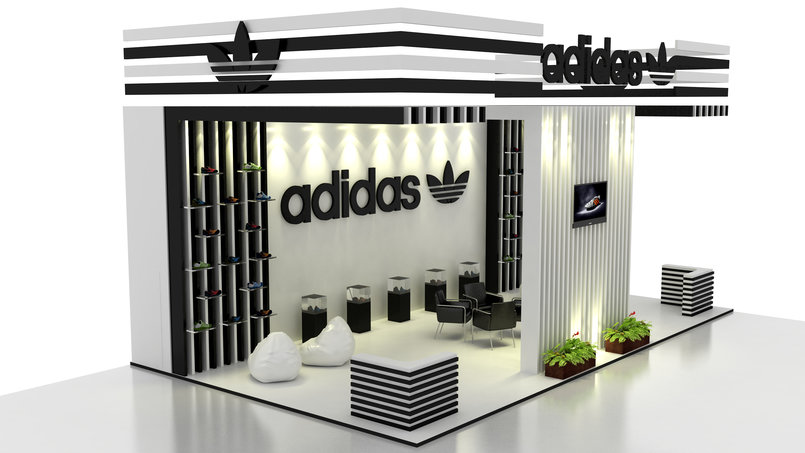 Sungard Exhibition Stand By Me : Adidas exhibition stand by ramxo khan ramxokhan