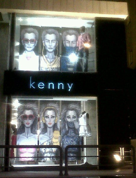 Kenny Window Display