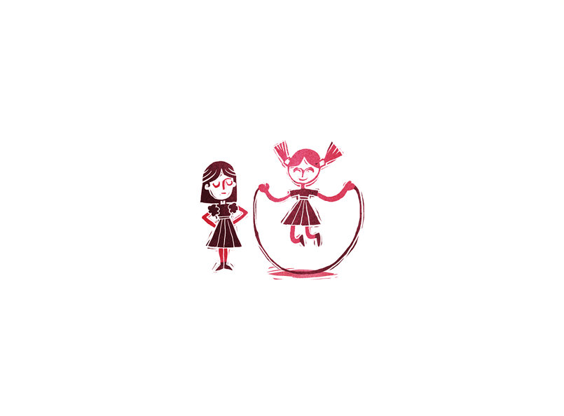 أين البنتان The Little Girls