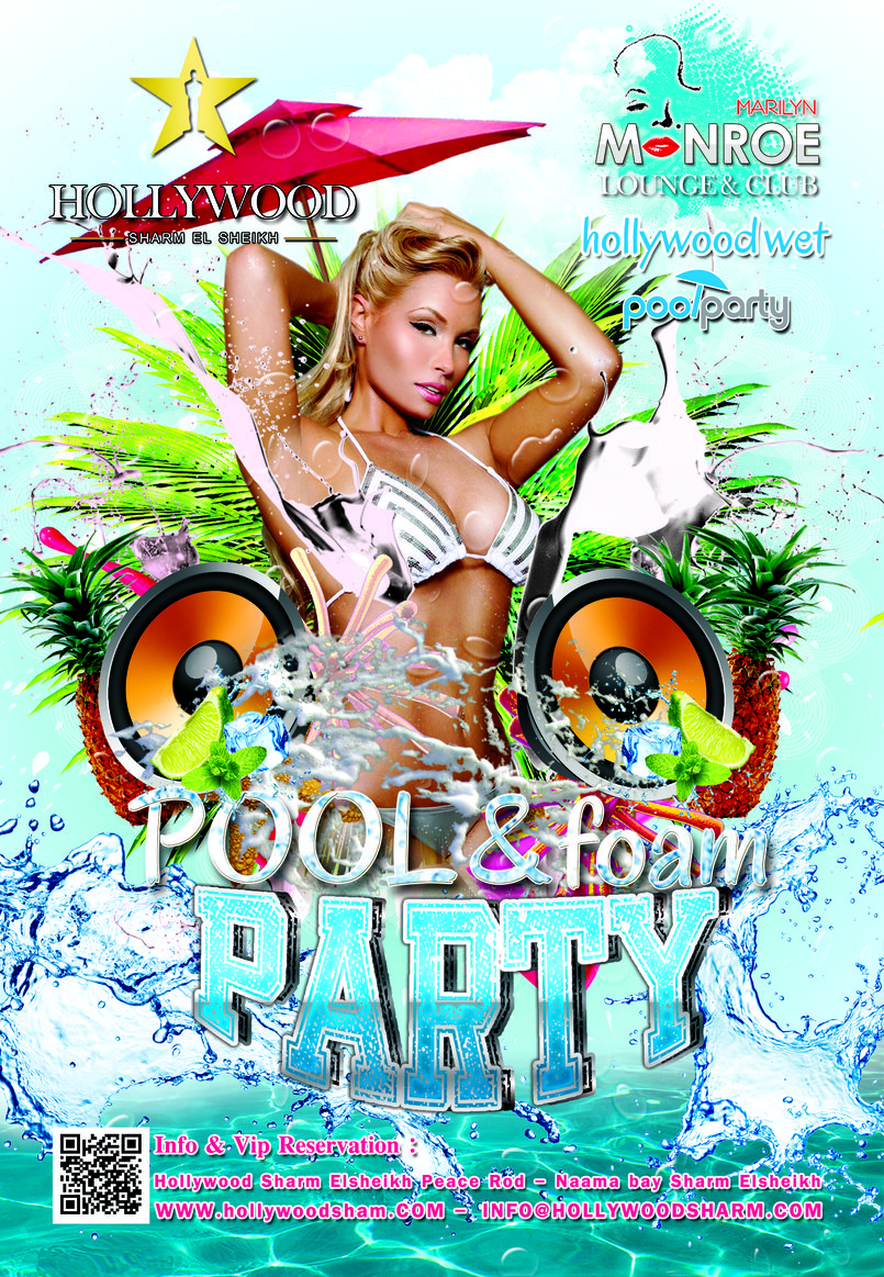 flayer pool party