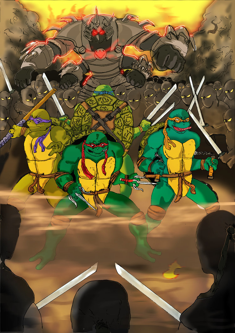 tmnt drawing and coloring