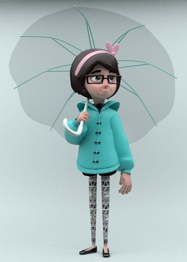 Animation & 3d Character Design