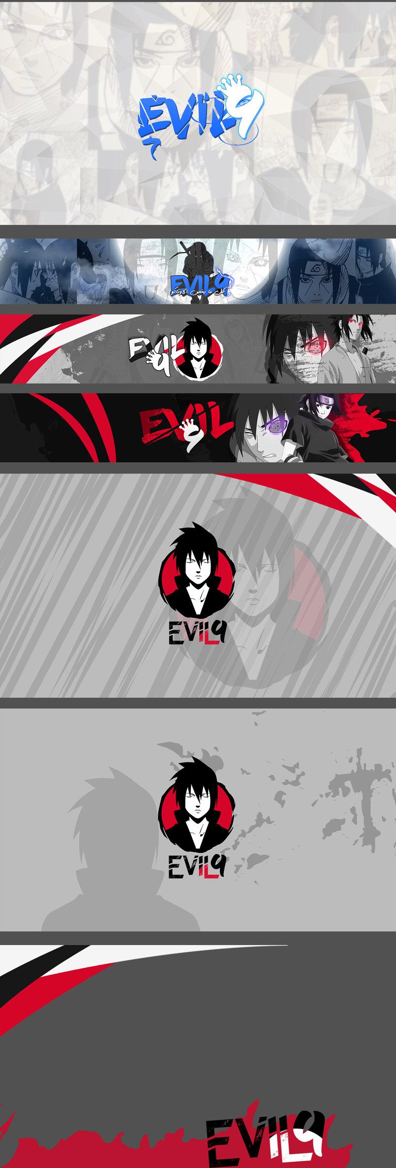 حزمة يوتيوب كاملة لقناة ايفل 9   Evil9