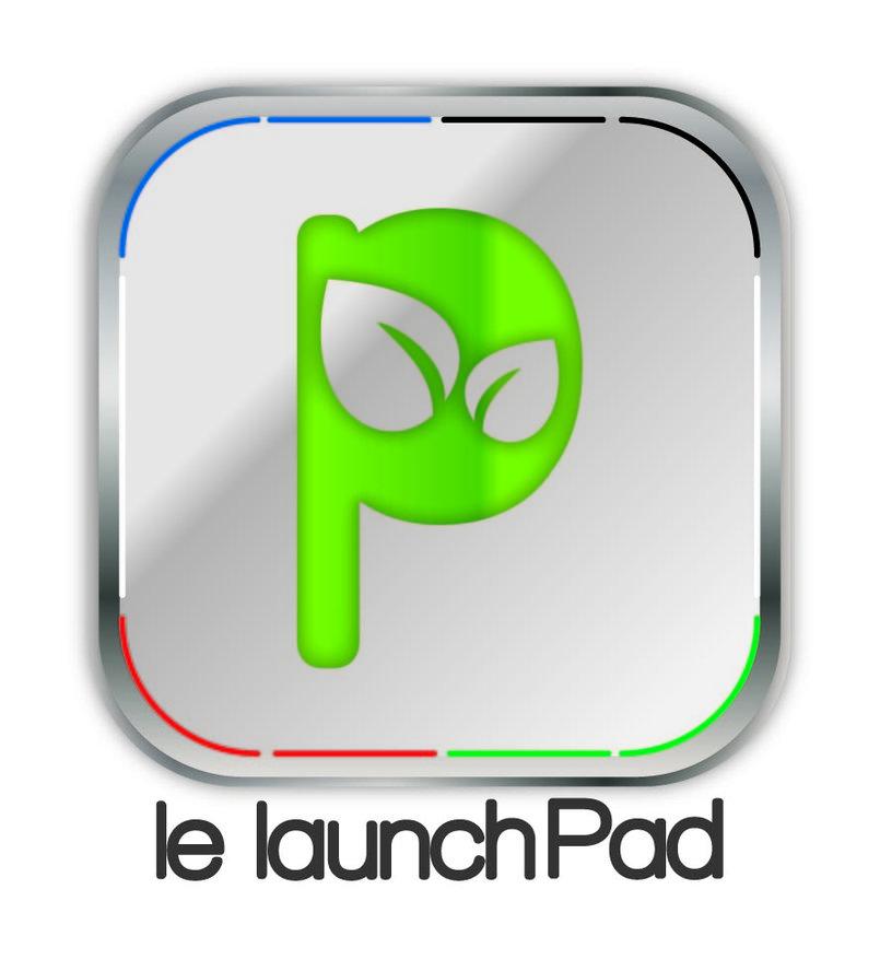 le launch pad Logo design