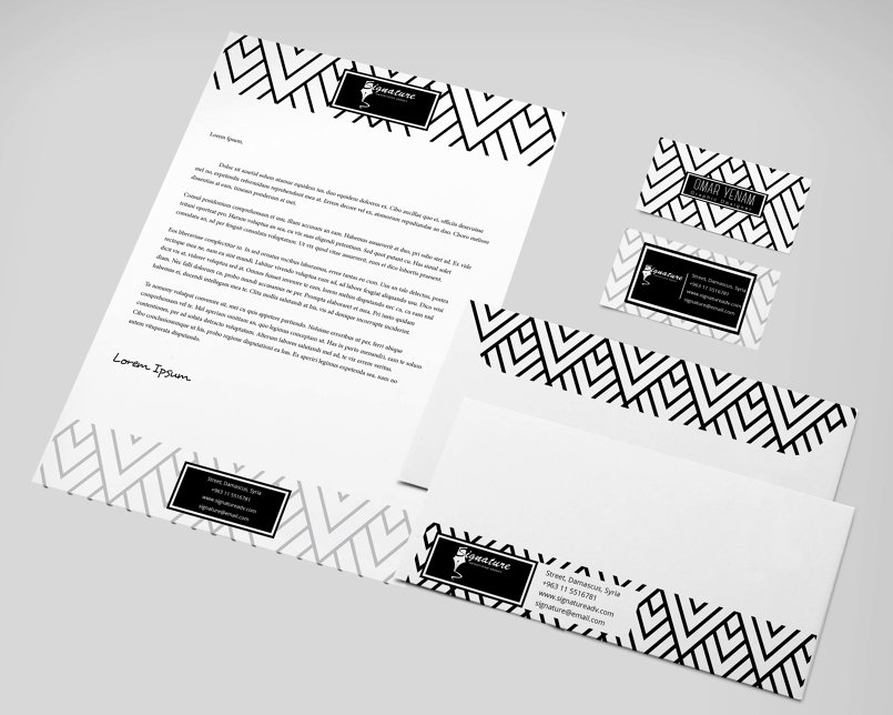 Modern Pattern Stationery