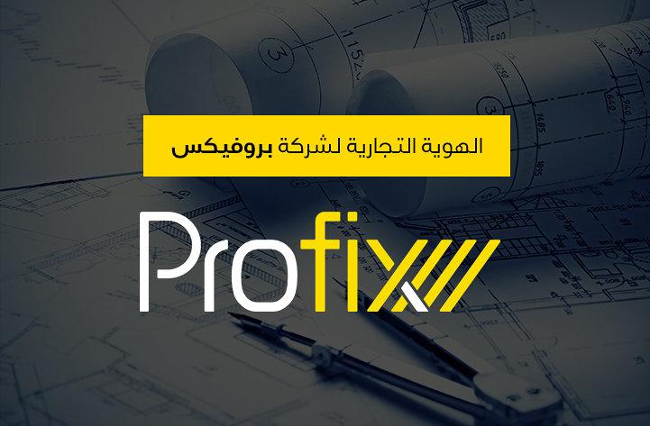 هوية شركة بروفيكس الهندسية