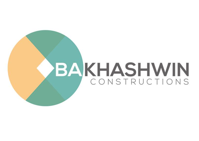شعار شركة باخشوين للتعاقدات | تصميم فكرة