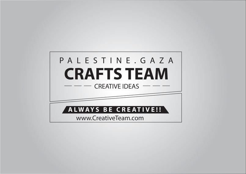 بوستر لفريق الأعمال اليدوبة | غزة، فلسطين