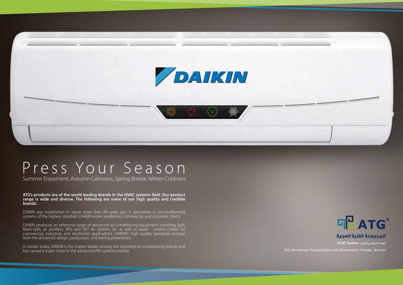 Daikin Magazine Ad
