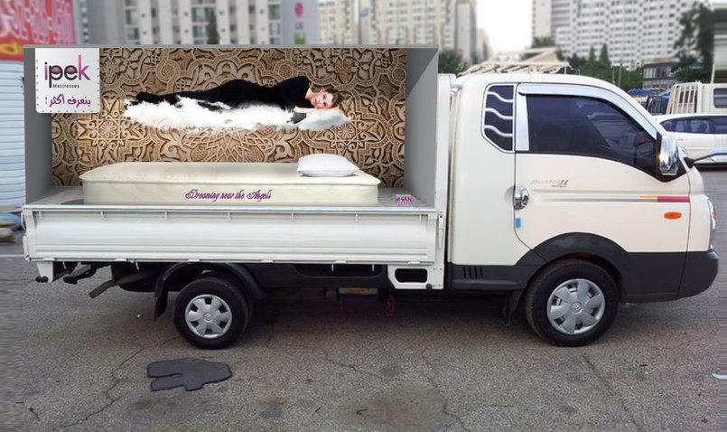 3D Truck ad.
