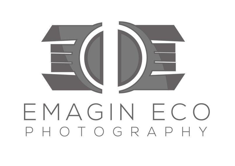 شعار شركة اماجن ايكو | للتصوير والمونتاج