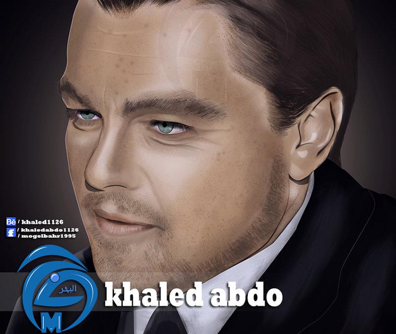 رسم وتصميم للفنان Leonardo DiCaprio
