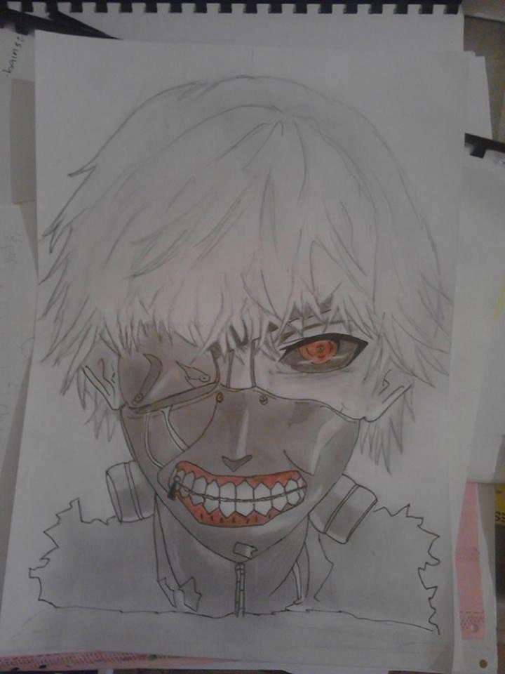 رسم  منغا