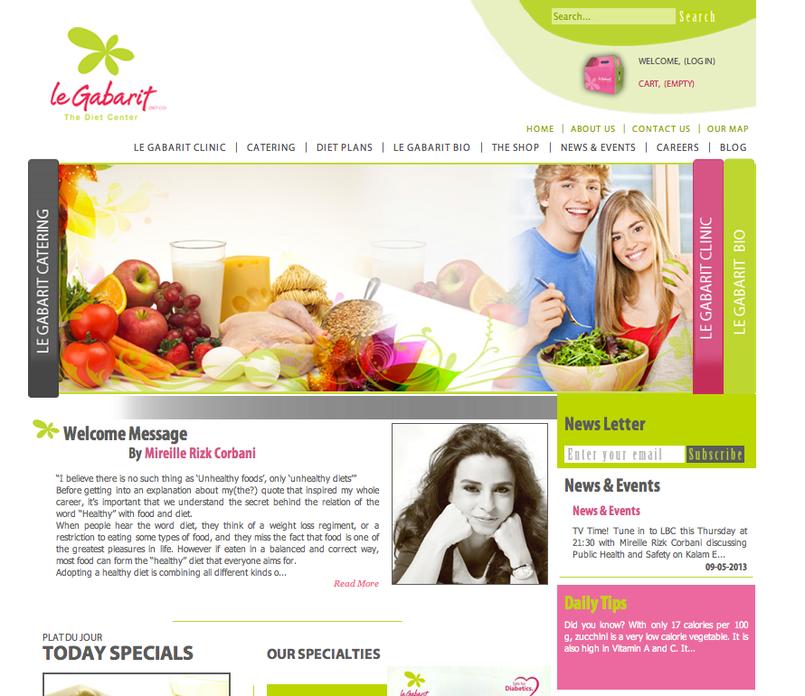 Le Gabarit website