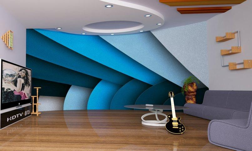 غرفه التدرج اللونى