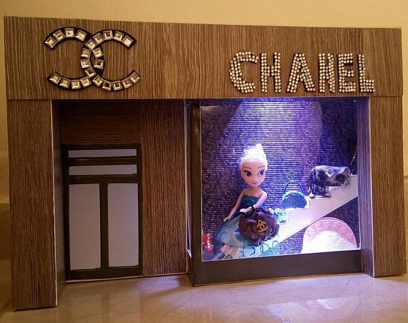 Interface Chanel shop